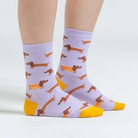 Hot Dog ladies socks