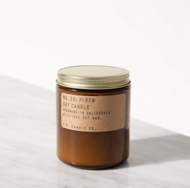 Piñon soy candle