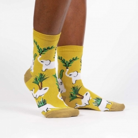 Plants Animals ladies socks