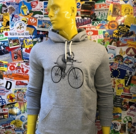 Badger Bike hooded sweater