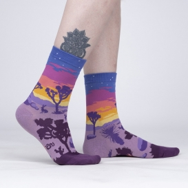 Desert At Night ladies socks