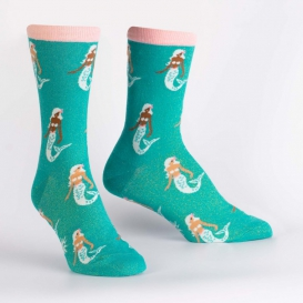 Mermaid Shine socks