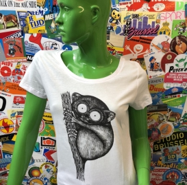 Tarsier ladies t-shirt