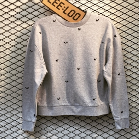 Small Foxes Crew Neck sweater