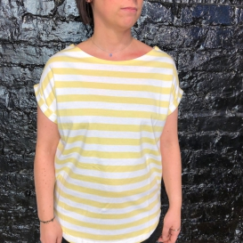 Distance Tender Striped top