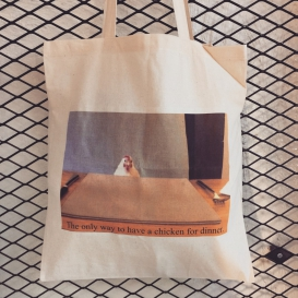 Chicken Dinner Tote Bag