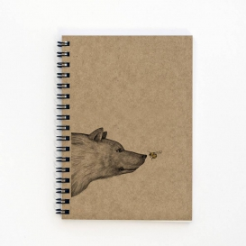 Honey Bear A6 notebook