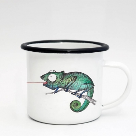 Catch Flies Emaille Coffee cup