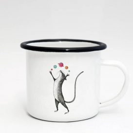 Planet Mouse Emaille Coffee cup