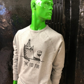 Time For Fun Men Crew Neck sweater