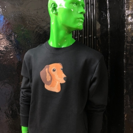 Surface Dog Crew Neck sweater