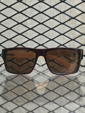 Dark Brown Night Wood sunglasses