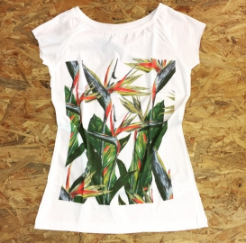 Exotic Flowers t-shirt
