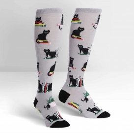 Cats And Books socks